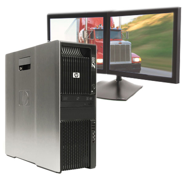 HP Z600 Computer E5506 2.13Ghz 6GB 160GB NVS290 for Dispatching
