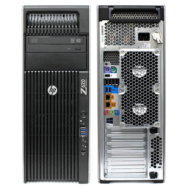 HP Z620 Workstation D3J41UT E5-1620 3.6GHz/ 4GB / 500GB HDD