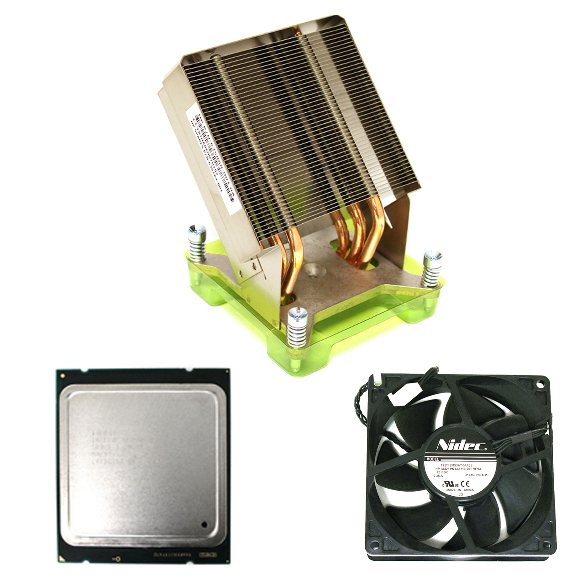 Processor KIT for HP Z820 Workstation Xeon E5-2620 Heatsink Fan