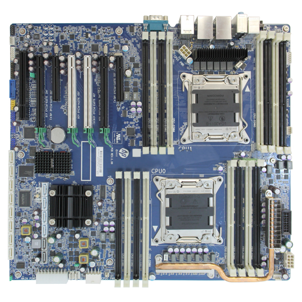 HP Z820 Workstation Systemboard Motherboard LGA2011 619562-001
