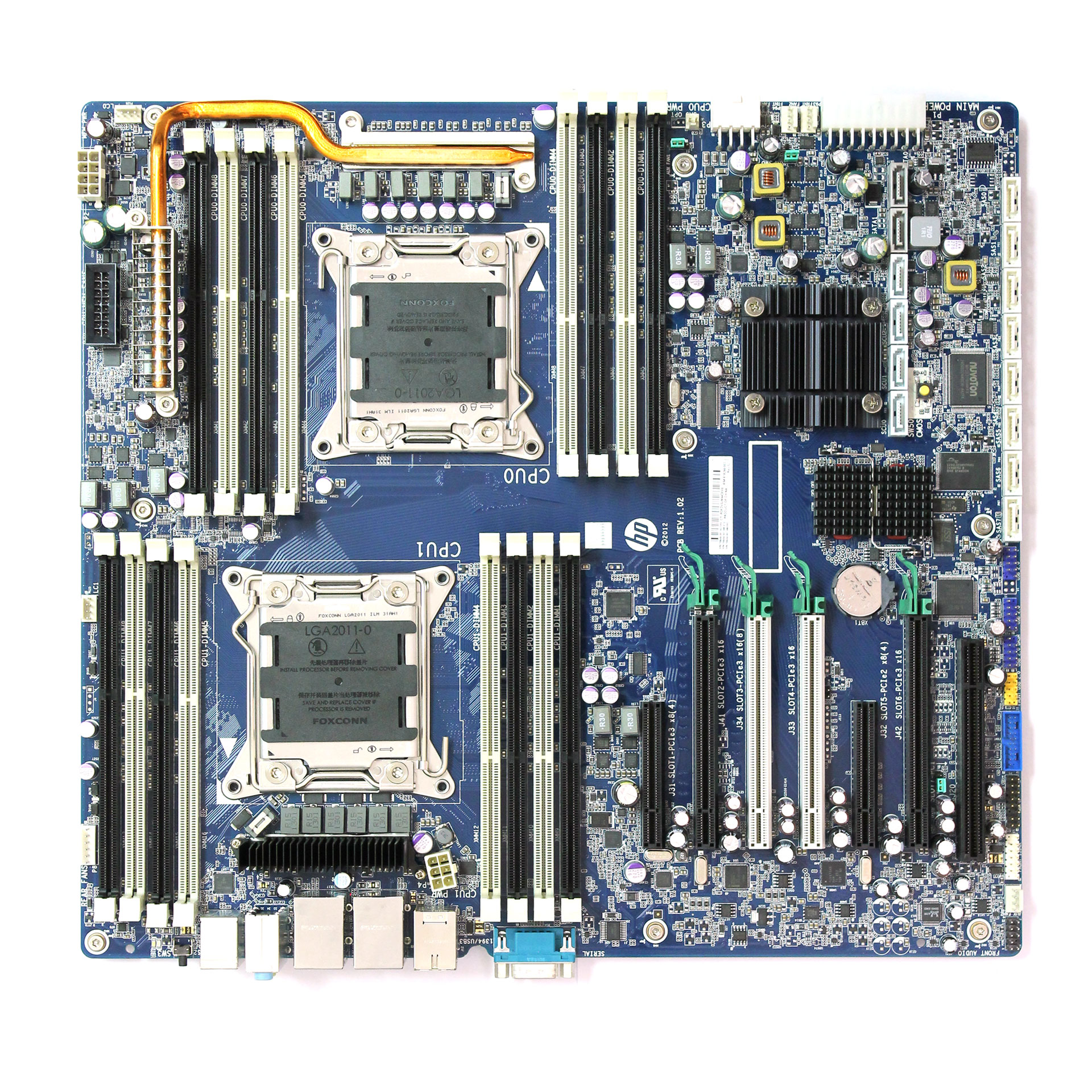 HP Z820 Intel LGA2011 DDR3 Motherboard 618266-004 708610-601