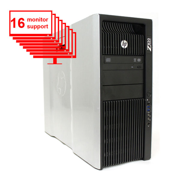 Trading 16 Monitor HP Z820 Intel E5-2640 2.5 GHz 2x250GB HDD
