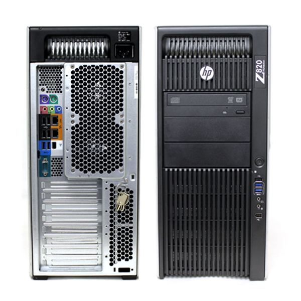 HP Z820 Barebone Workstation / Chassis w/ Motherboard 618266-00