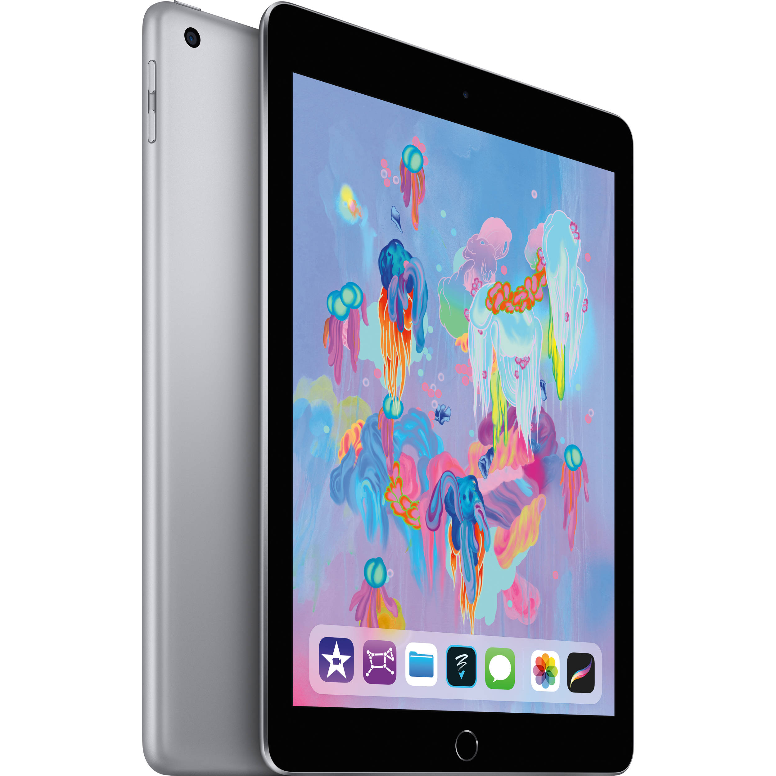 "Apple iPad 9.7"" 32GB 6th Gen Wi-Fi Only Space Gray A1893"
