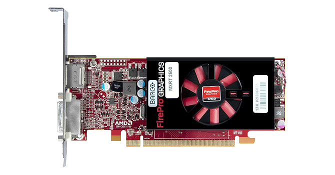 BARCO MXRT-2500 1GB Video Graphics Card 13-K9306035-00