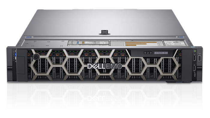 Chassis only Dell EMC PowerEdge R740xd 12-bay with 6- fans PN: 4VXP3 PN: G0T3G