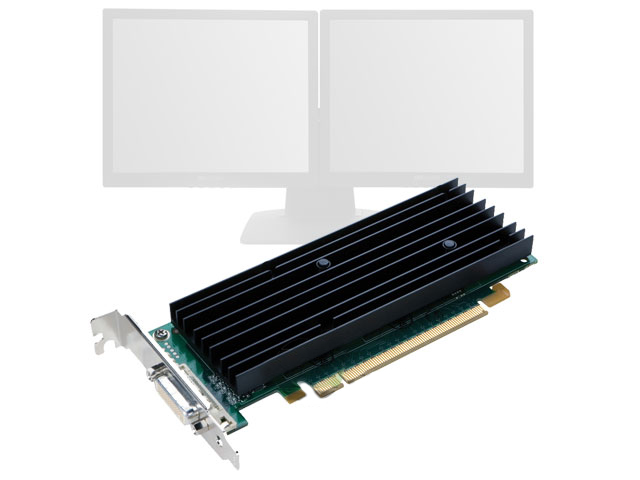 nVidia Quadro NVS 290 Low Profile Bracket Video Card HP