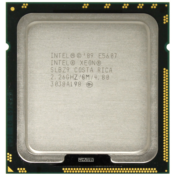 Intel Xeon E5607 Quad Core 2.26GHz 8MB LGA1366 SLBZ9 Processor