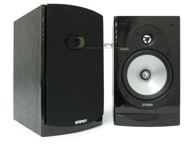 Energy CB-20 2 Channels Compact Bookshelf Home Theater Speakers