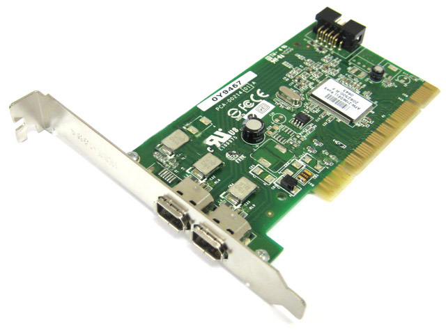 Dell Adaptec AFW-2100 Y9457 Firewire IEEE 1394 Controller Card