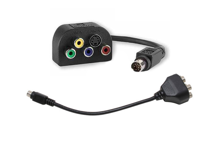 nVidia FX, ATI, HDTV Adapter Cable,S-Video, Component,RGB, HD