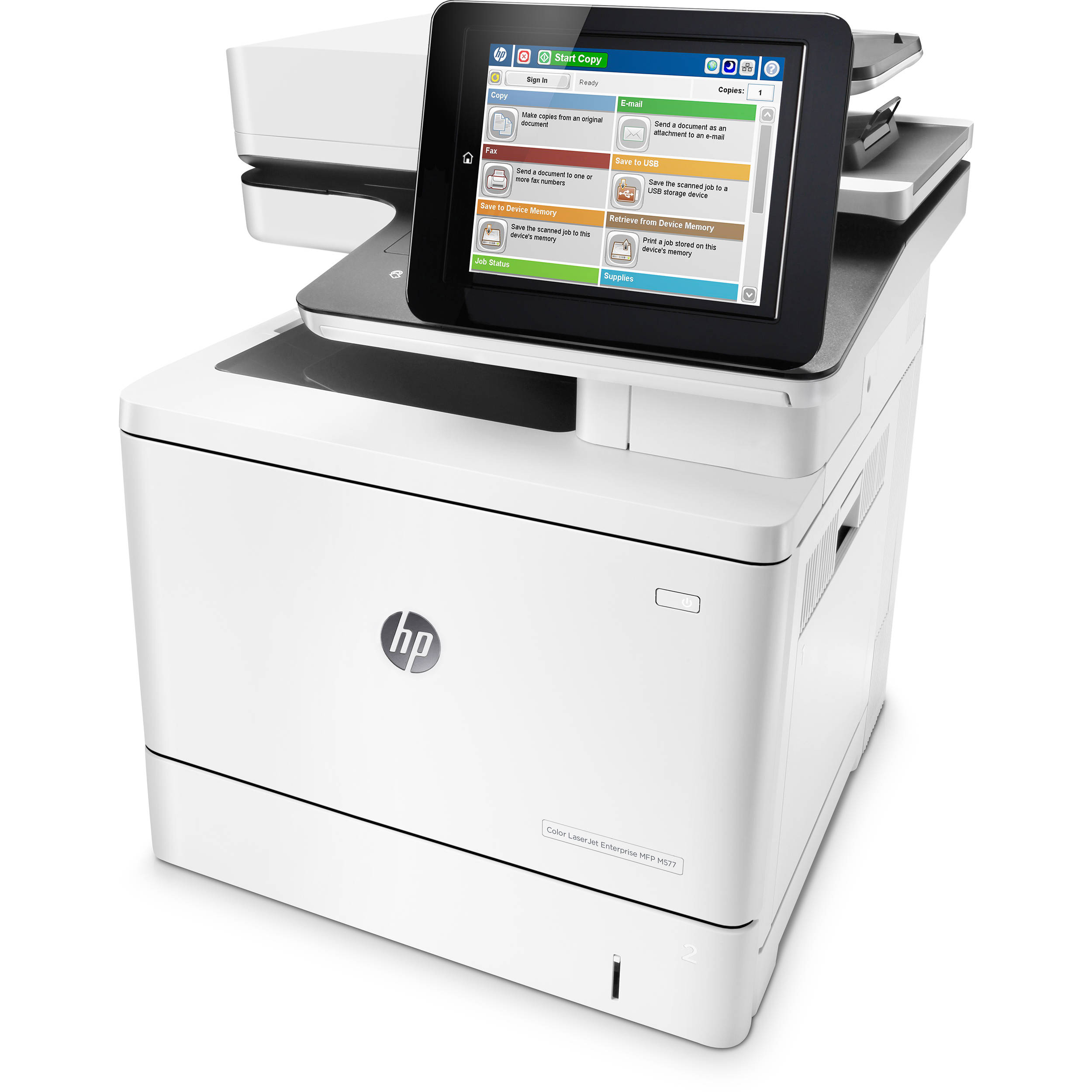 HP Color LaserJet Enterprise MFP M577dn B5L46A