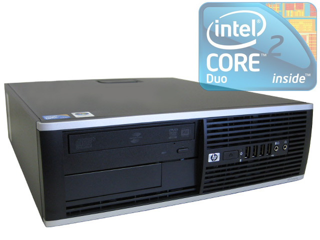 HP Elite 8000 SFF Dual Core 2.93GHz/4GB/80GB/DVD-RW/Win 7