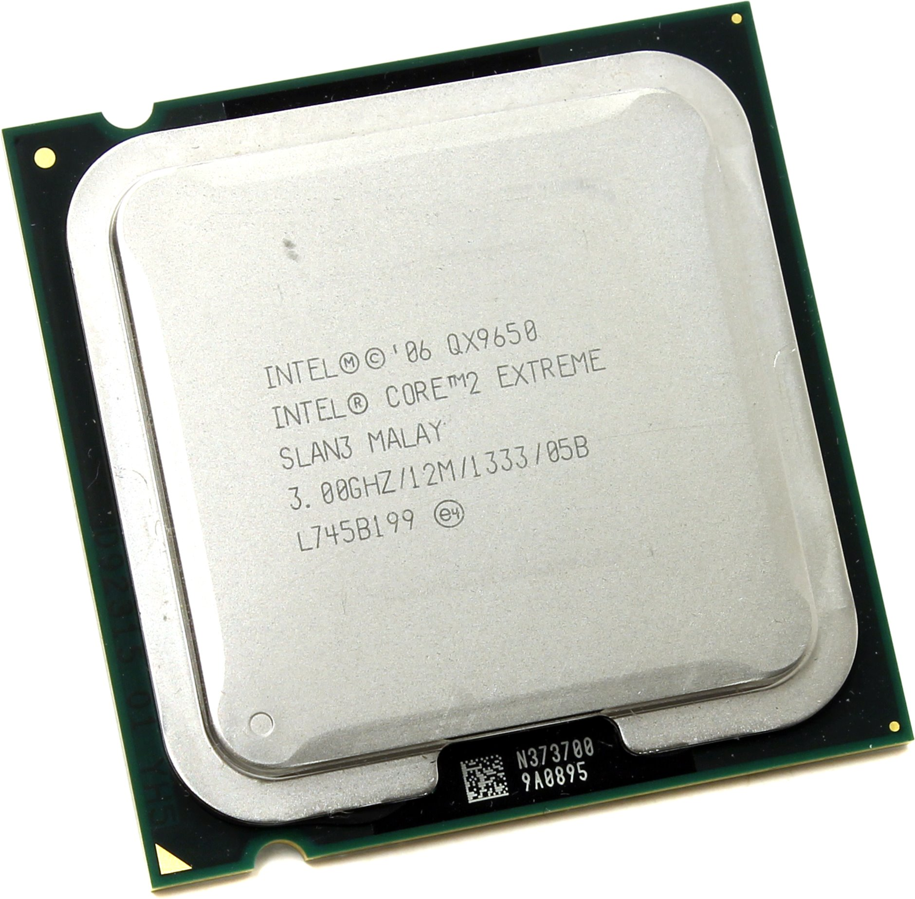 Intel Core 2 Extreme QX9650 3 GHz Quad-Core Processor 12 MB CPU