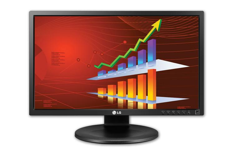 "LG 22MB35PU-I 21.5"" IPS LED Monitor FullHD Black/Hairline Finish"
