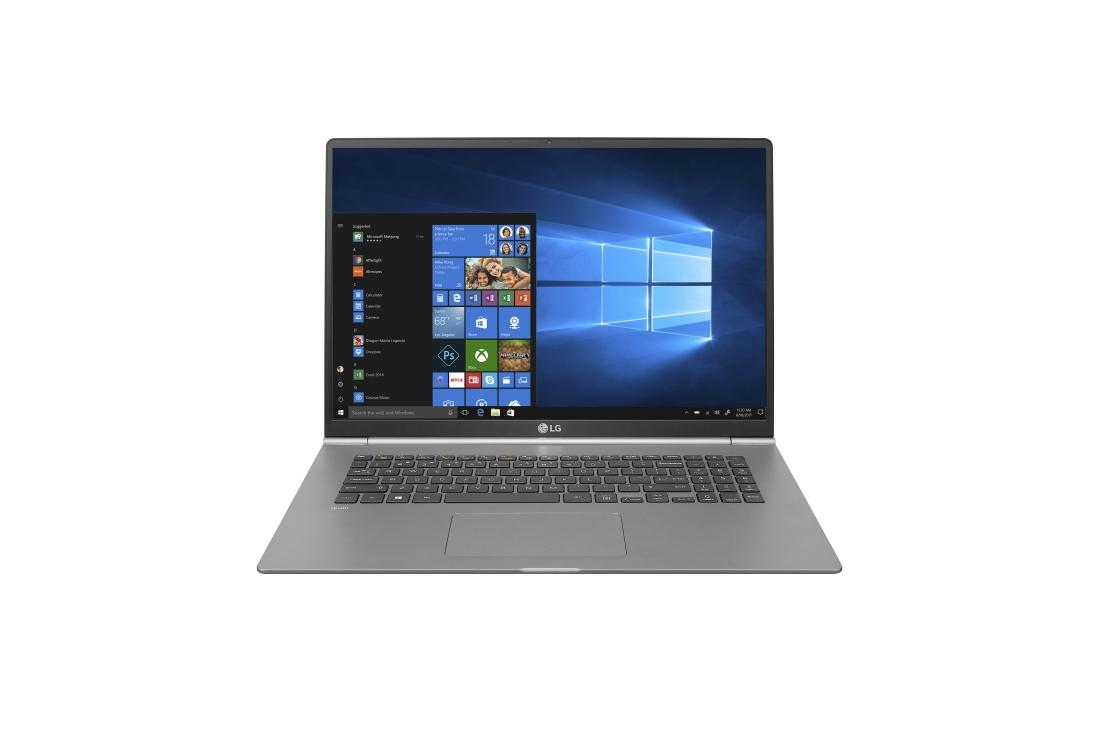 "LG Gram 17"" 2560x1600 Intel Core I7-8565U 1.8GHz M.2 512Gb RAM 16Gb Win10 17Z990-R.AP71U1"