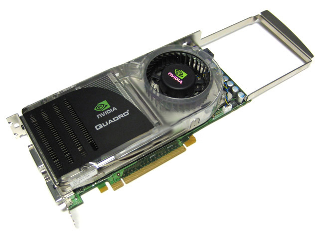 HP nVIDIA Quadro FX 4600 FX4600 768MB PCIE Video Card 442228-001