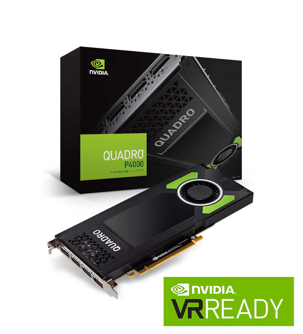 PNY nVidia Quadro P4000 Graphics Card VCQP4000-PB 8GB 256-bit
