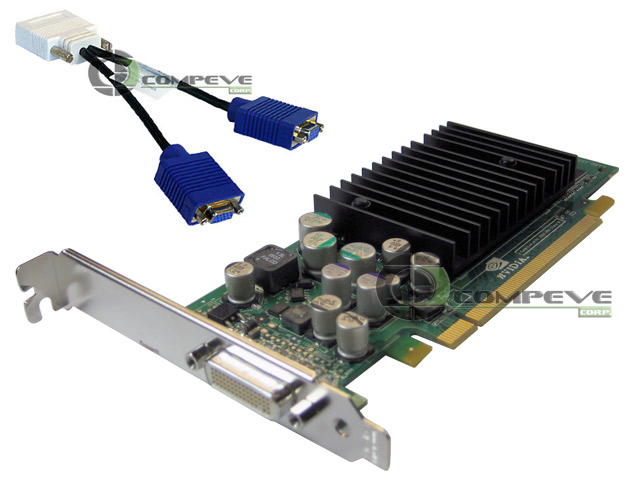 nVidia Quadro NVS 285 128MB PCI-E x16 Dual Monitor Video Card