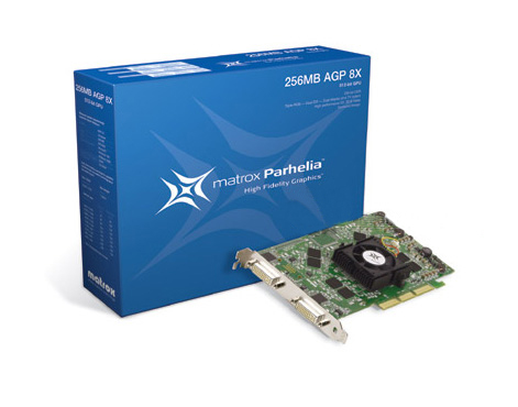 Matrox Parhelia 256MB PH-A8X256 AGP 8X Multi-Display Video Card