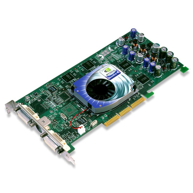 IBM nVidia Quadro4 980XGL 128MB AGP Video Card 59P4991 Lenovo