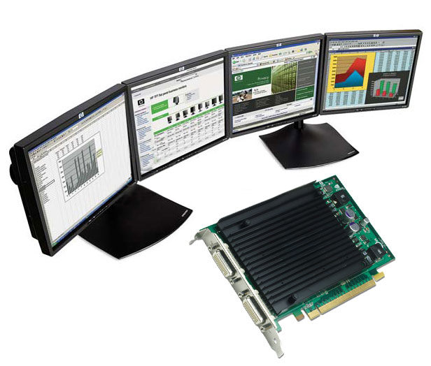 PNY VCQ440NVS-PCIEX16 nVidia Quadro NVS 440 Video Card NVS440