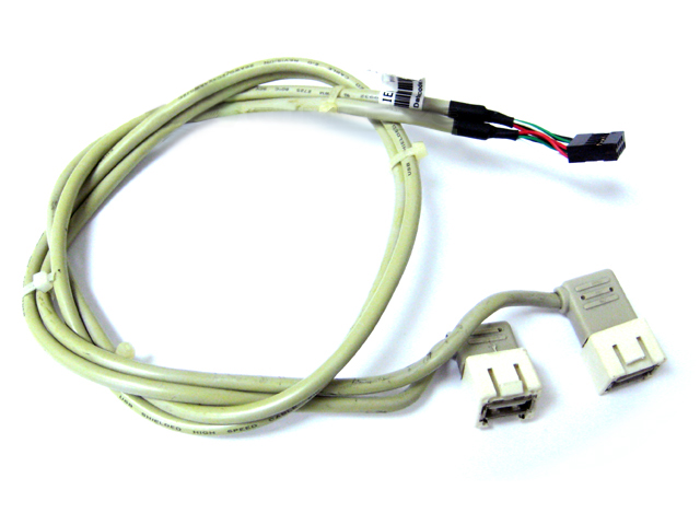 HP DL140 1U Server USB Cable Motherboard To Case 348800-001