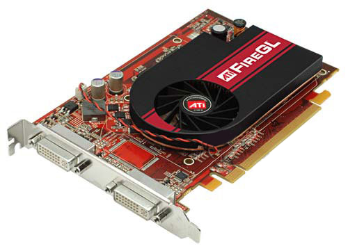 ATI FireGL V3350 PCI-E Workstation Graphics Card HP 42227-001