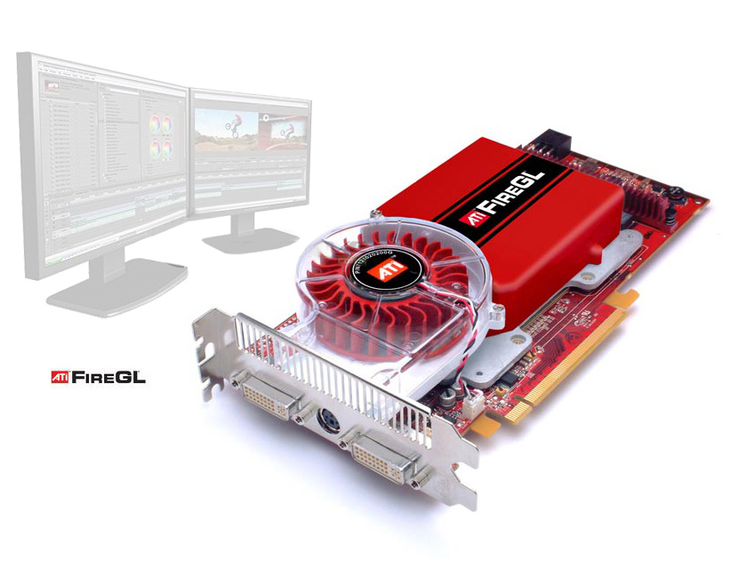 ATI FireGL V7200 Dell UH651 PCI-E Graphics Video Card