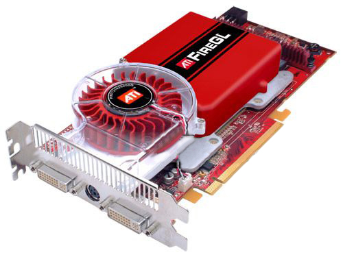 ATI FireGL V7350 1GB 100-505143 Workstation Graphics Video Card