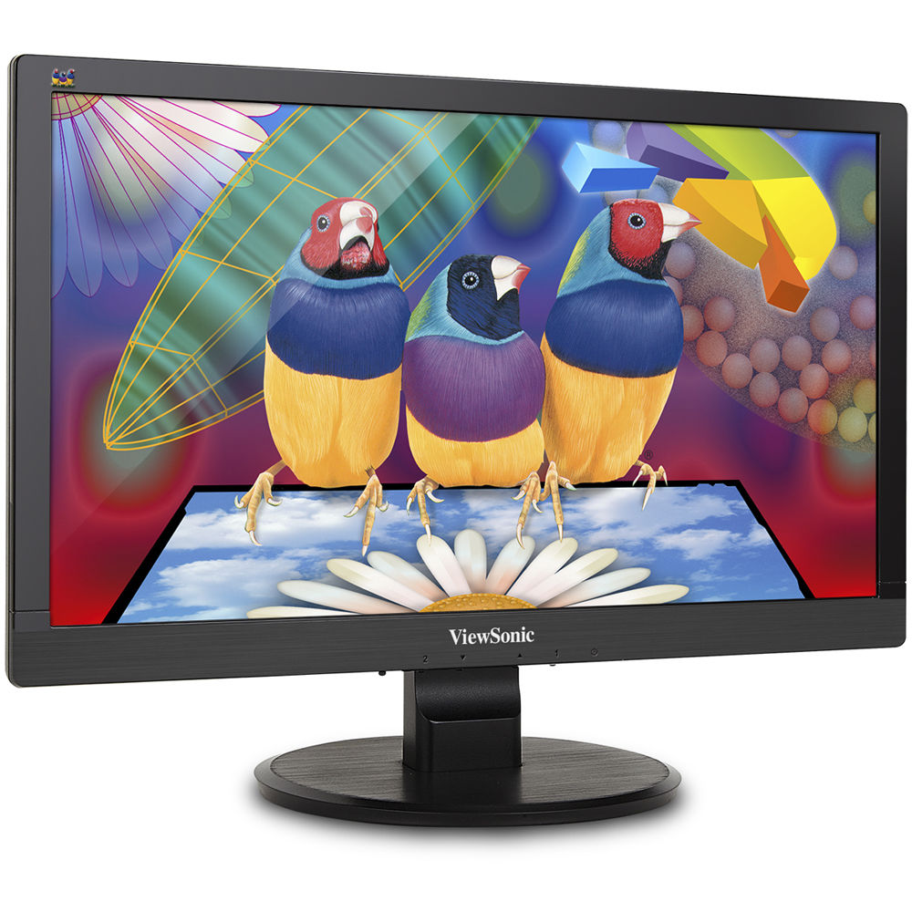"ViewSonic VA2055SM 20"" LED-backlit LCD Black 3000:1 16:9 TFT"
