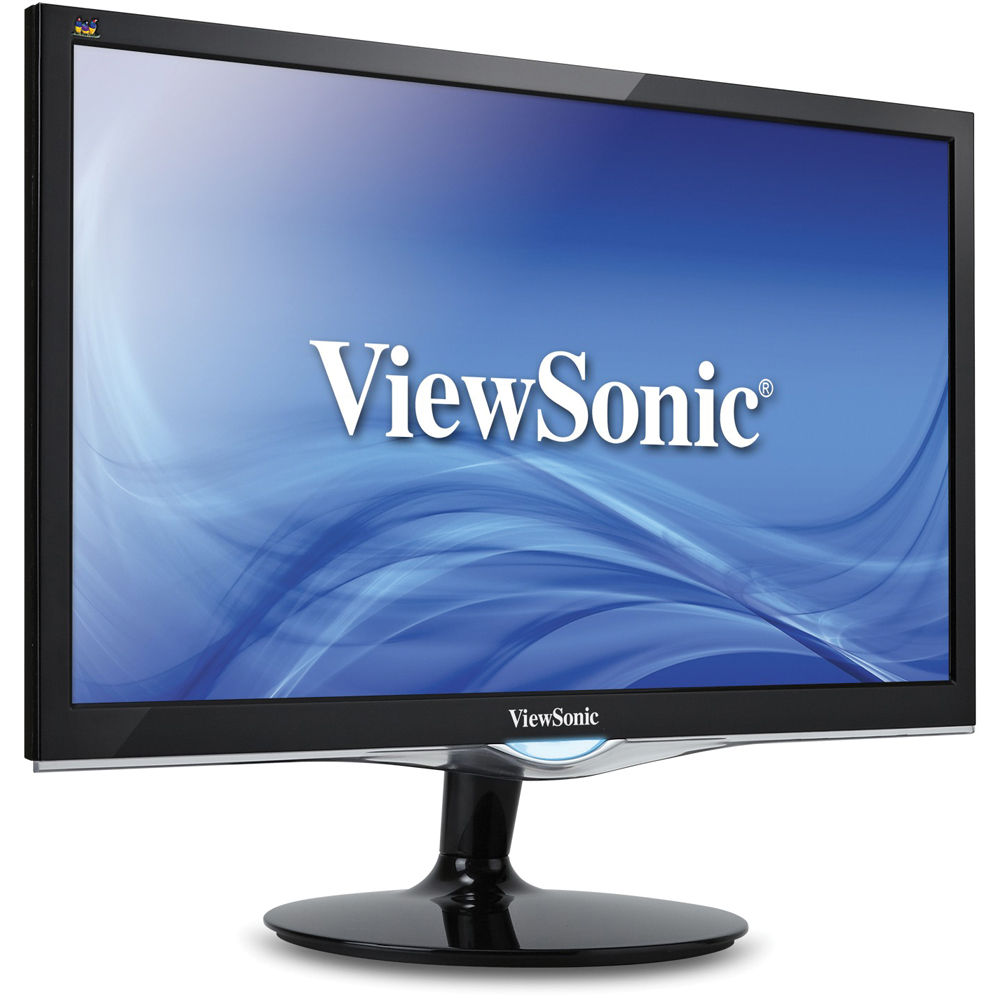 "ViewSonic VX2452MH 24"" LED Monitor with Speakers 16:9 1920x1080"