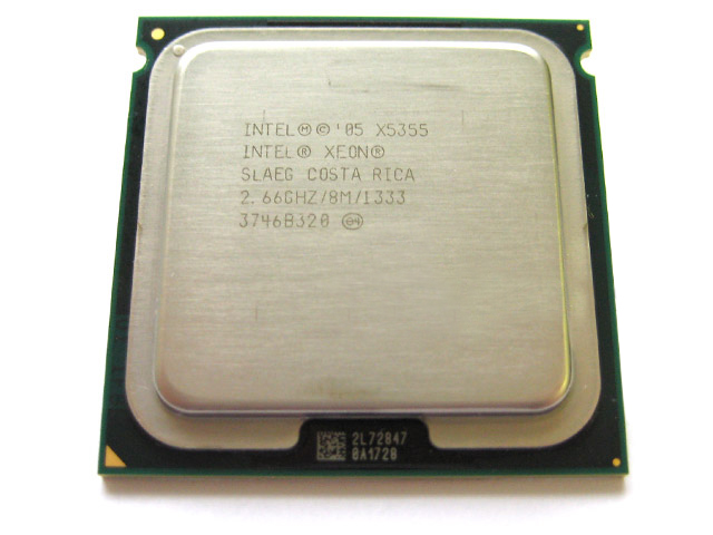 Intel Quad Core Xeon 2.66GHz 8MB L2 Cache Socket LGA 771 X5355