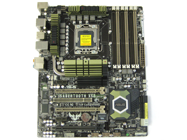 ASUS Sabertooth X58 Motherboard LGA 1366 for Core i7 Extreme CPU