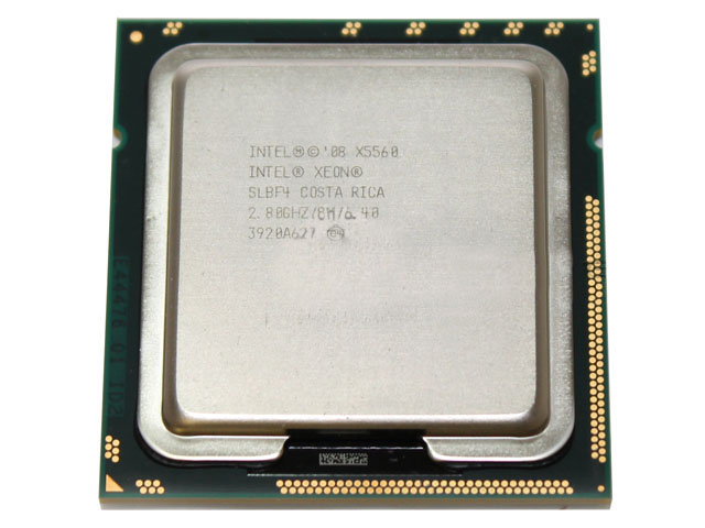 Intel Xeon X5560/SLBF4 2.8GHz Quad Core 8MB L3 Processor CPU