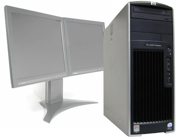 HP XW6600 Workstation Quad Core Xeon 2.33GHz 6GB FX 1500