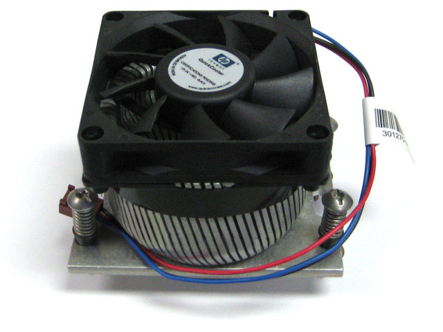 HP XW8000 Computer Heat Sink Fan Cooler 301270-002 Intel 604