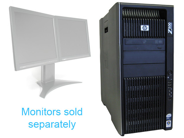 HP Workstation Z800 FF825AV 2x x5560 2.8Ghz 12GB 256GB SSD K5000